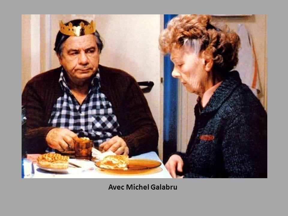 Avec Michel Galabru