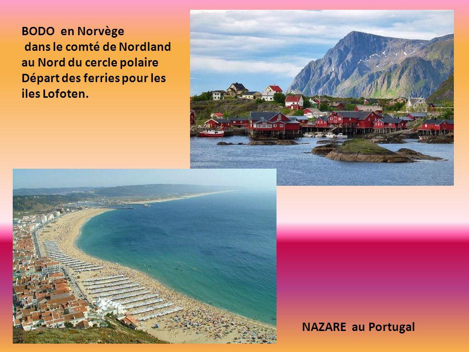 BODO en Norvège dans le comté de Nordland au Nord du cercle polaire. Départ des ferries pour les iles Lofoten.