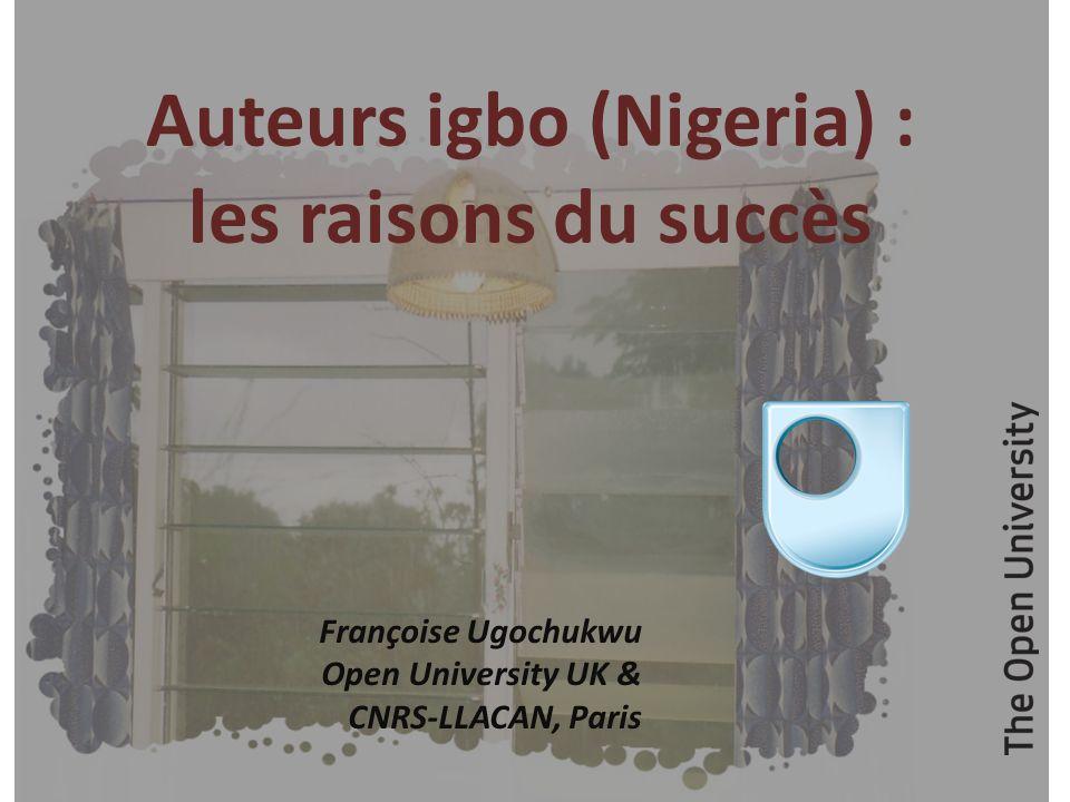 Auteurs igbo (Nigeria) : les raisons du succès