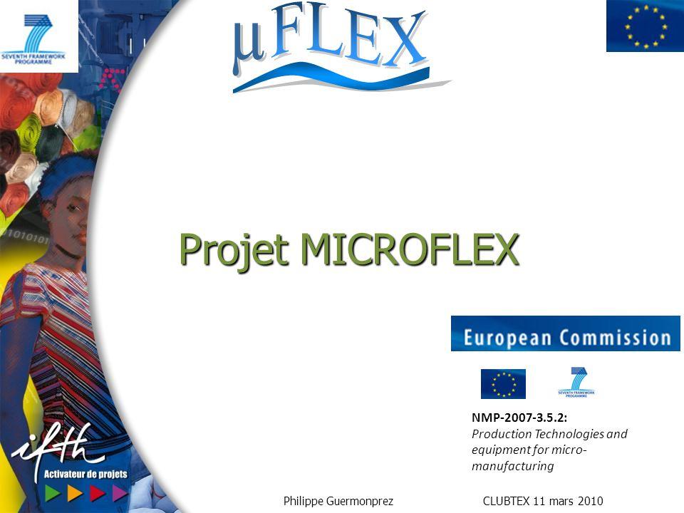 Projet MICROFLEX NMP-2007-3.5.2:
