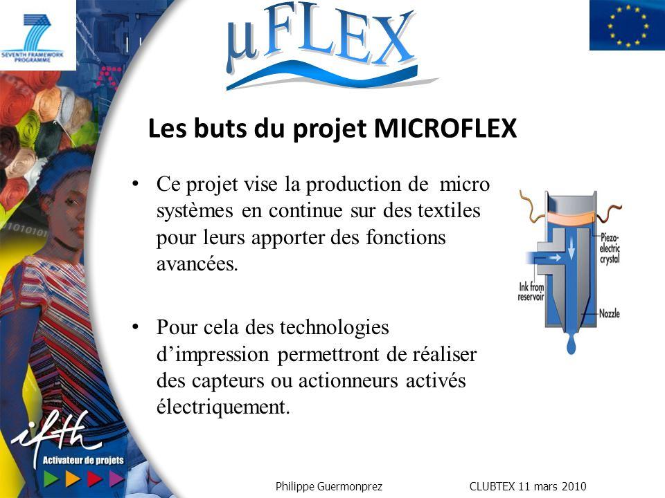 Les buts du projet MICROFLEX