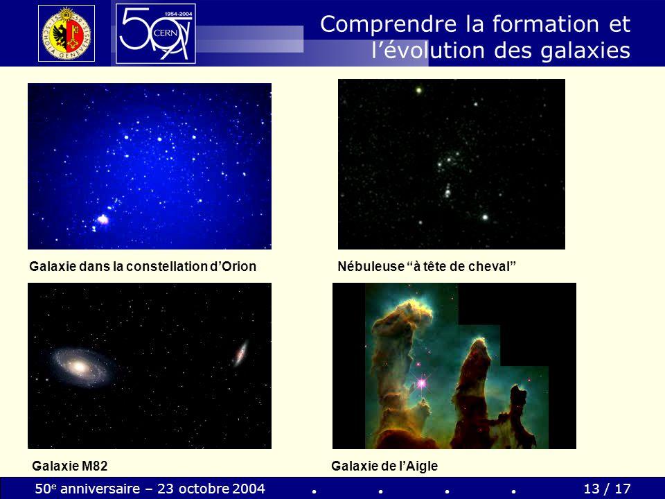 Comprendre la formation et l'évolution des galaxies