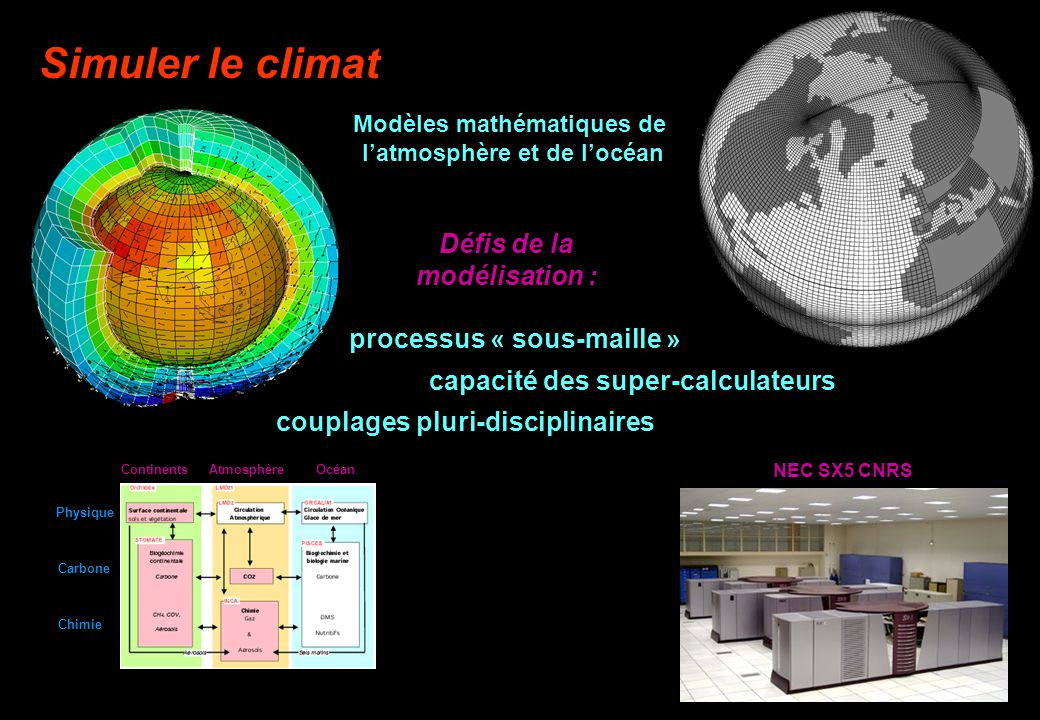 Modèles mathématiques de l'atmosphère et de l'océan