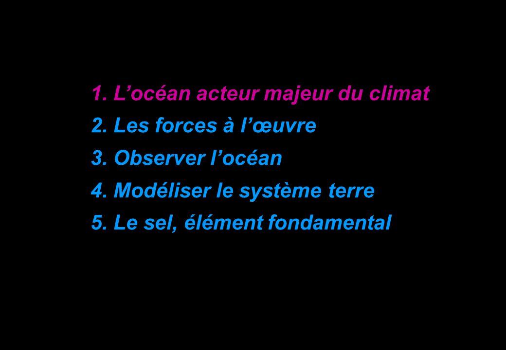 1. L'océan acteur majeur du climat