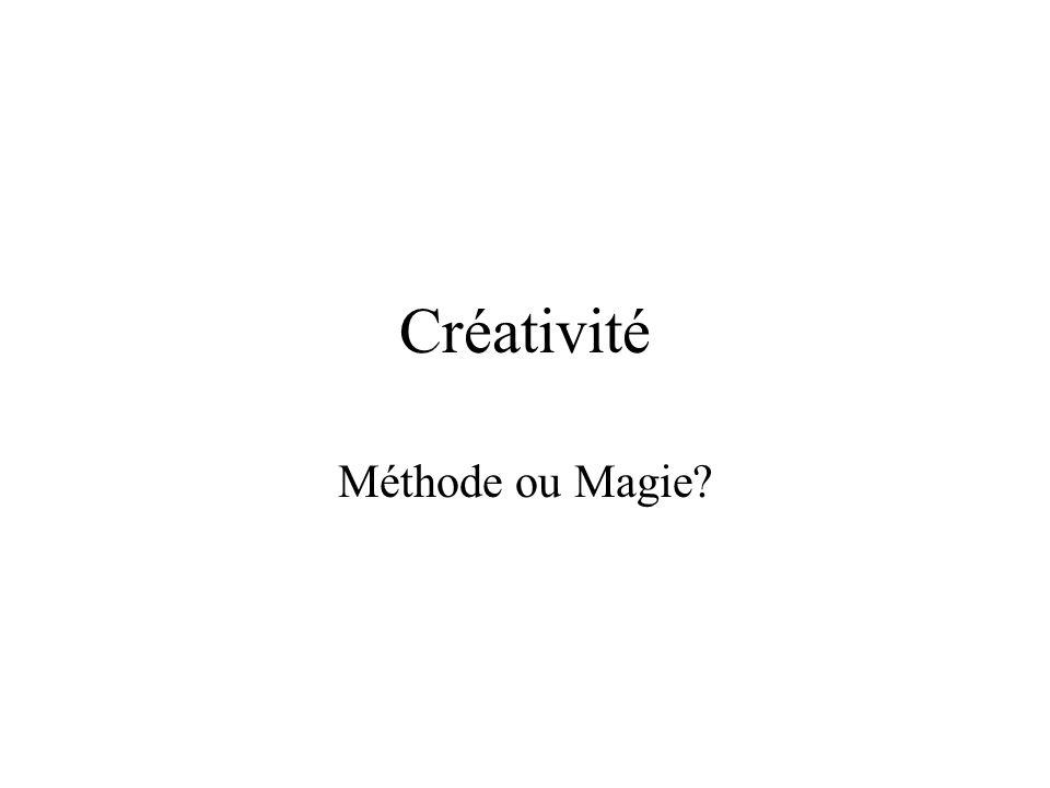 Créativité Méthode ou Magie