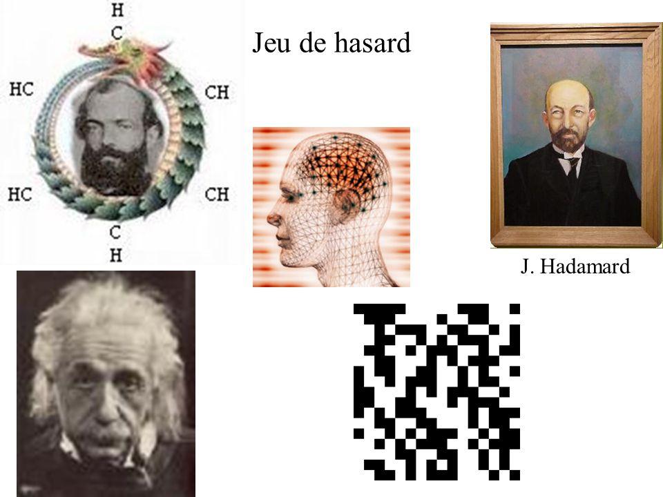 Jeu de hasard J. Hadamard