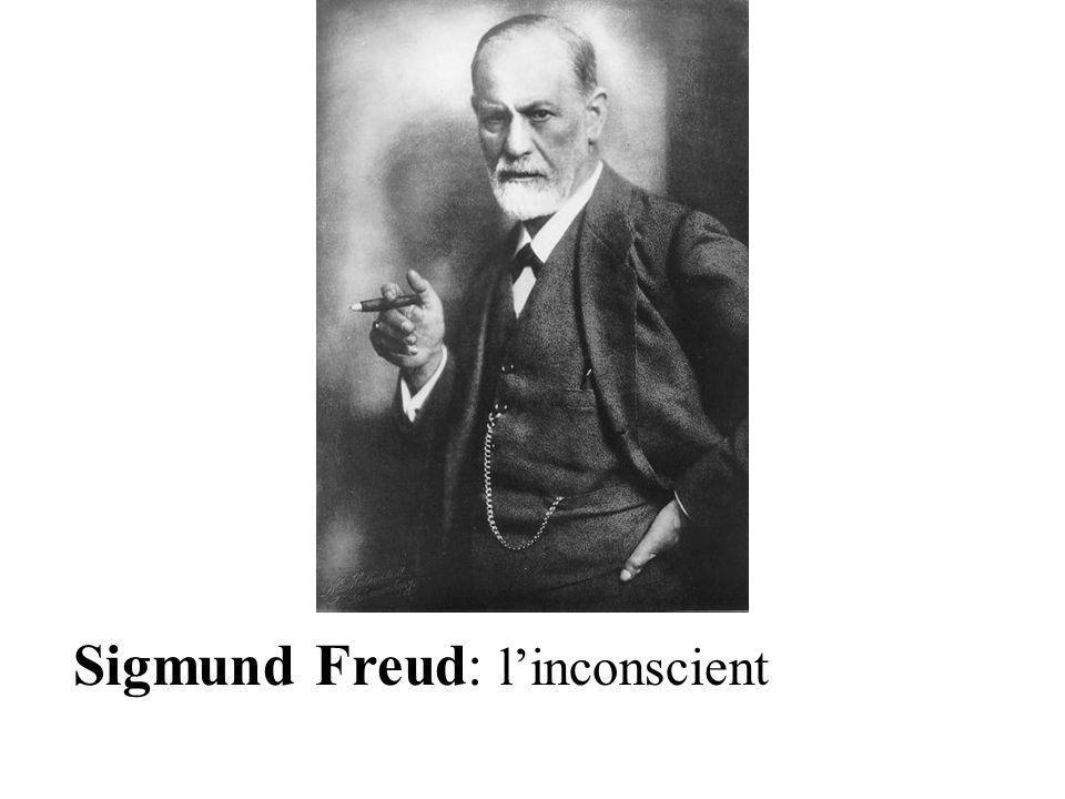 Sigmund Freud: l'inconscient