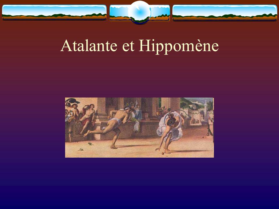 Atalante et Hippomène