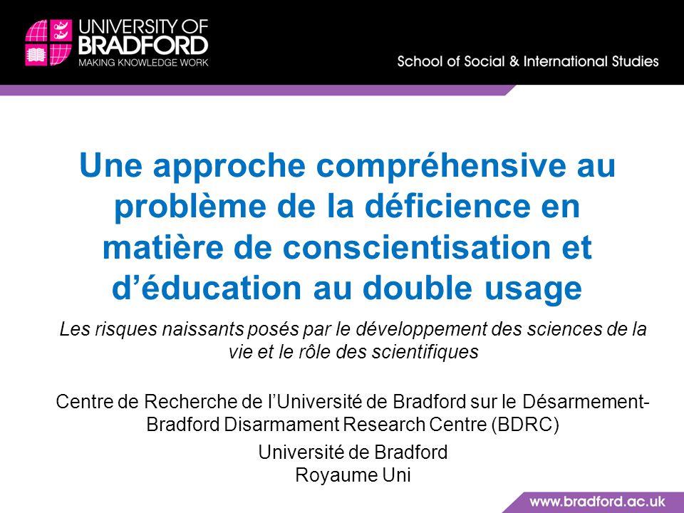 Université de Bradford Royaume Uni