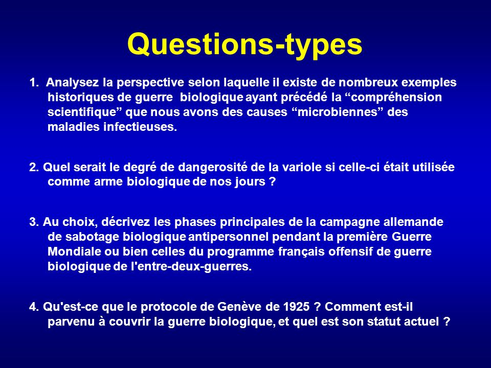 Questions-types