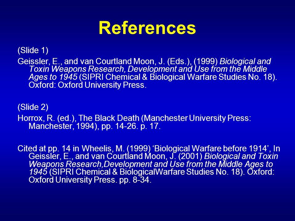 References (Slide 1)