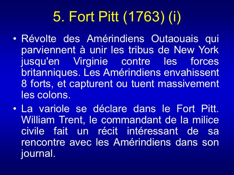 5. Fort Pitt (1763) (i)