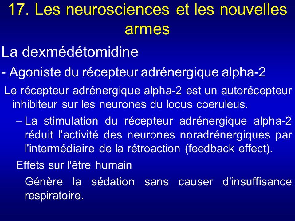 17. Les neurosciences et les nouvelles armes