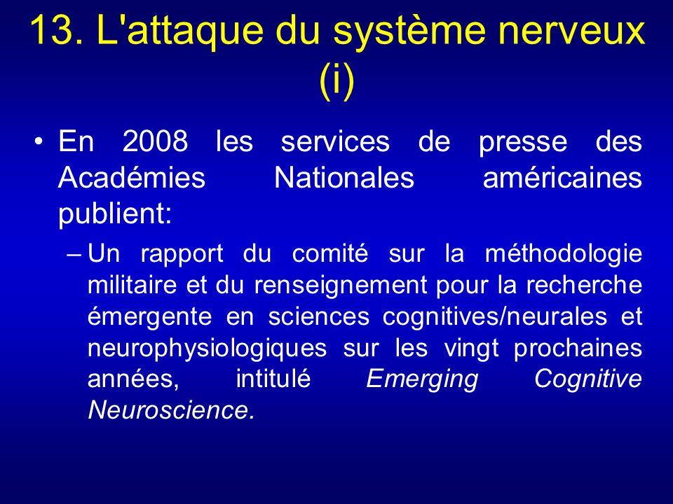 13. L attaque du système nerveux (i)