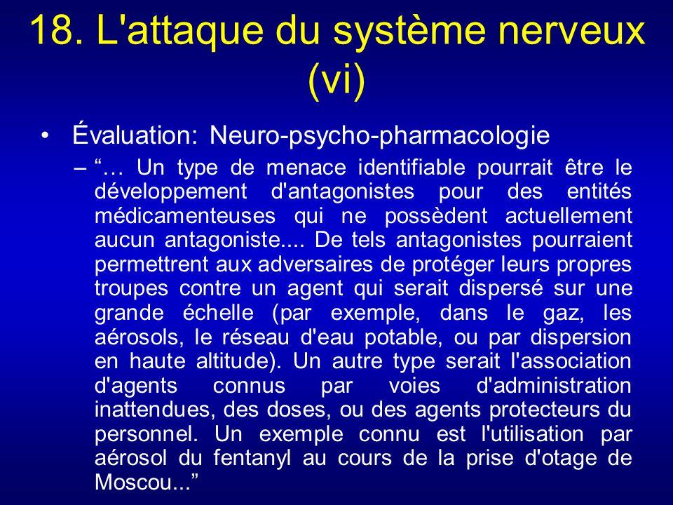 18. L attaque du système nerveux (vi)