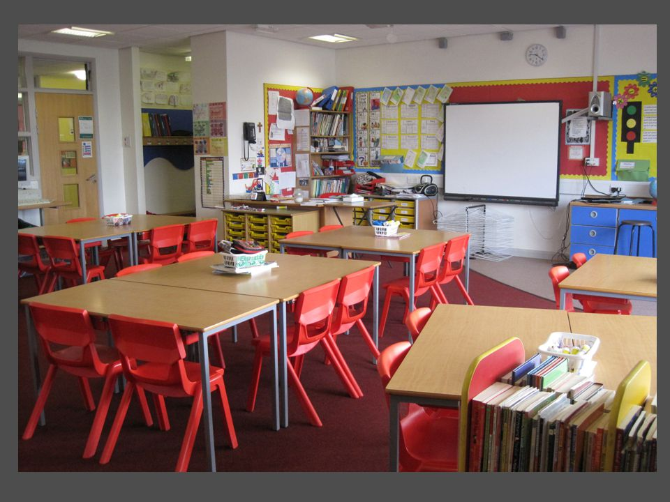 Secondary classrooms are different places to primary