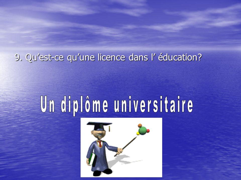 Un diplôme universitaire