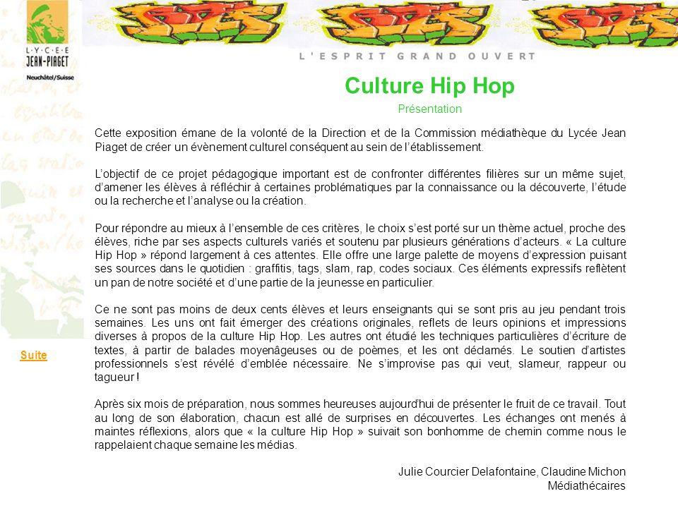 Culture Hip Hop Présentation
