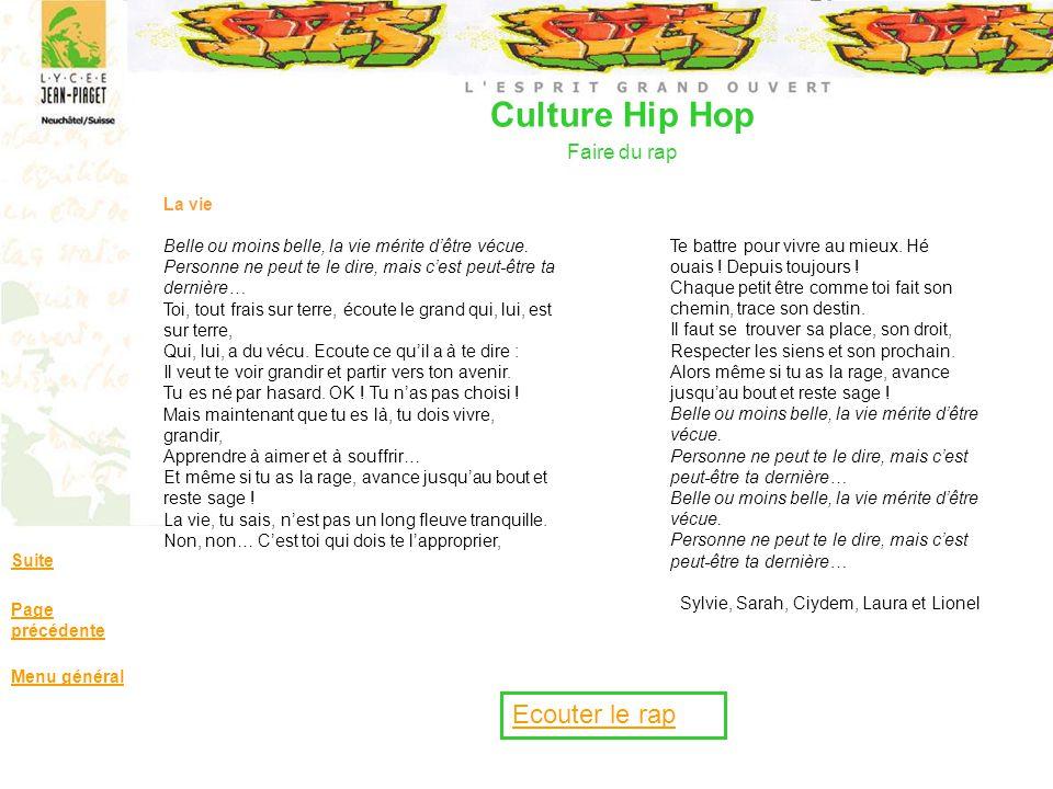 Culture Hip Hop Faire du rap