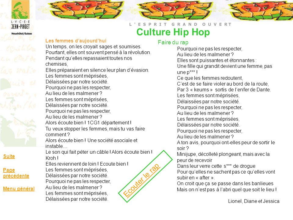 Culture Hip Hop Faire du rap