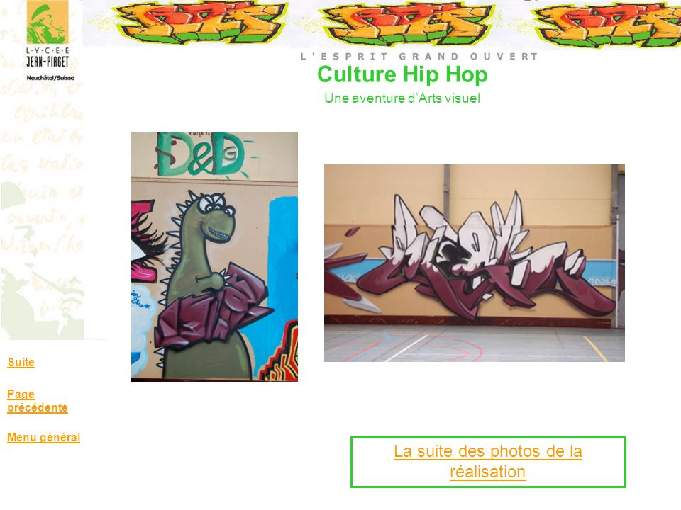 Culture Hip Hop Une aventure d'Arts visuel