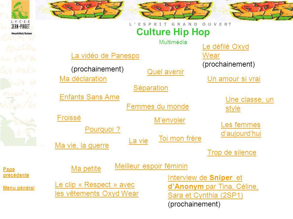 Culture Hip Hop Multimédia