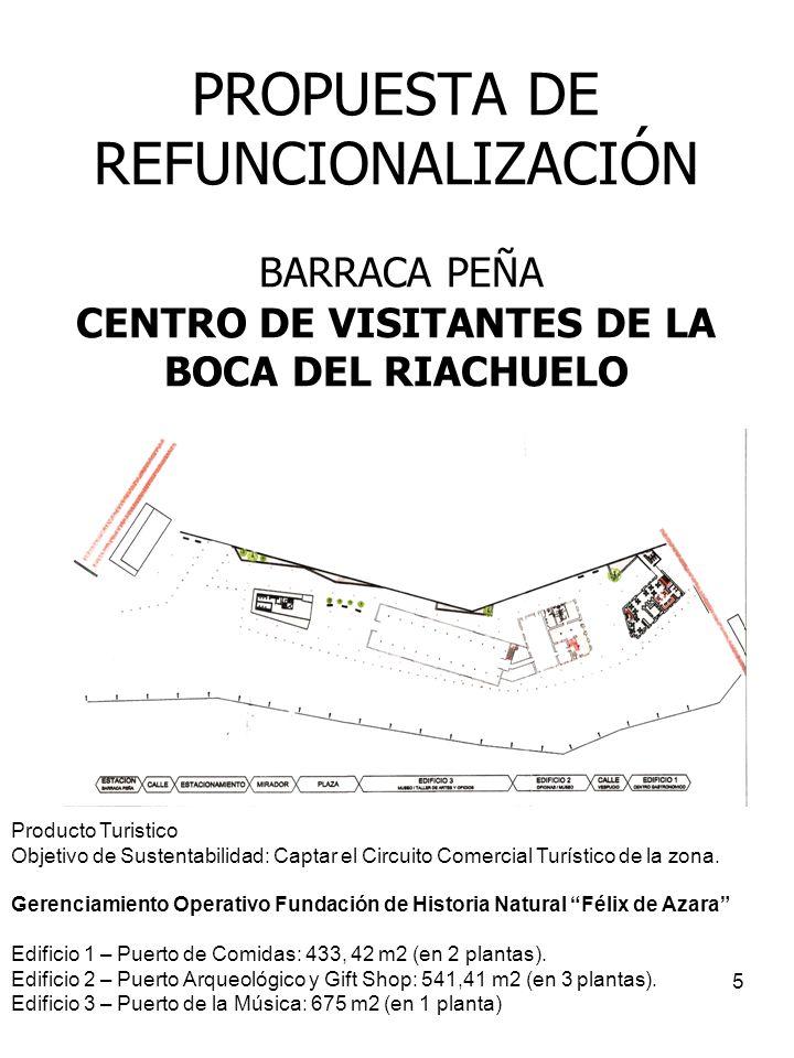 PROPUESTA DE REFUNCIONALIZACIÓN BARRACA PEÑA CENTRO DE VISITANTES DE LA BOCA DEL RIACHUELO