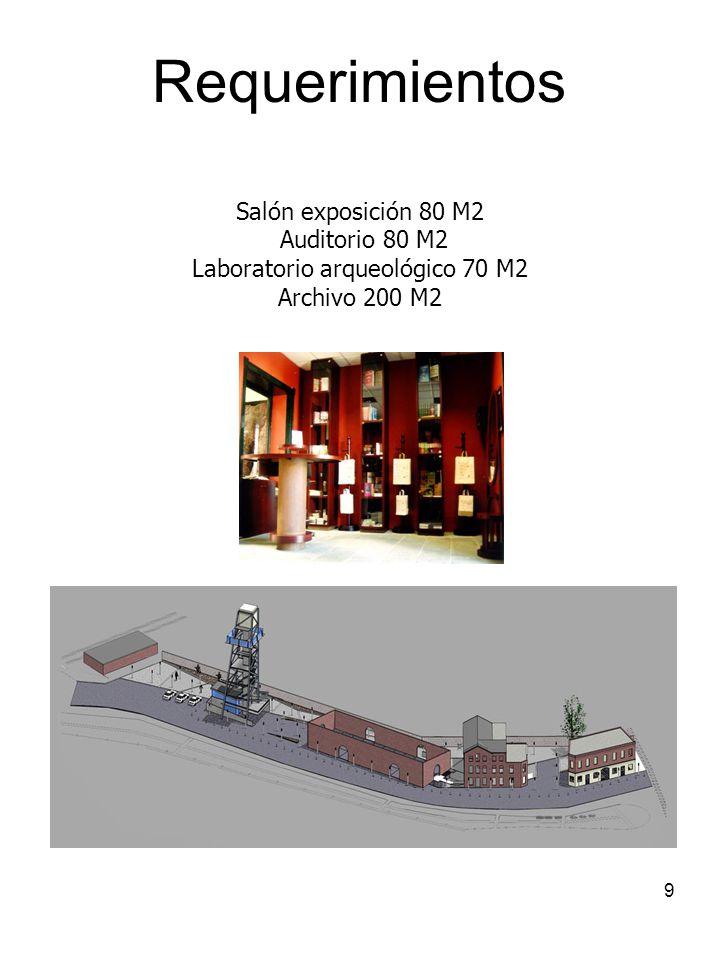 Laboratorio arqueológico 70 M2