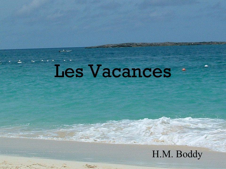 Les Vacances H.M. Boddy