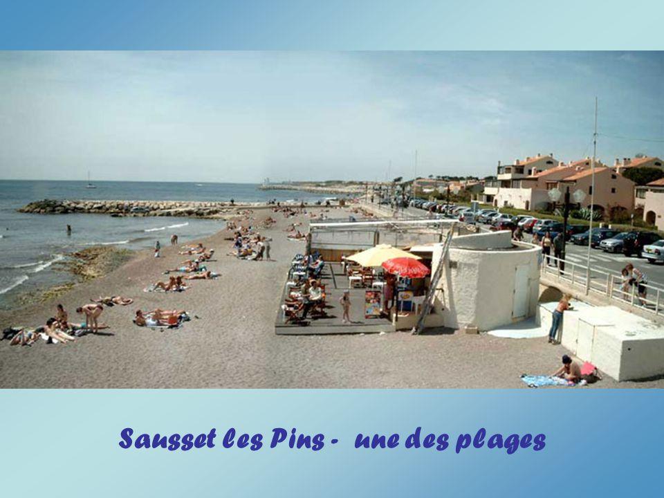 Sausset les Pins - une des plages