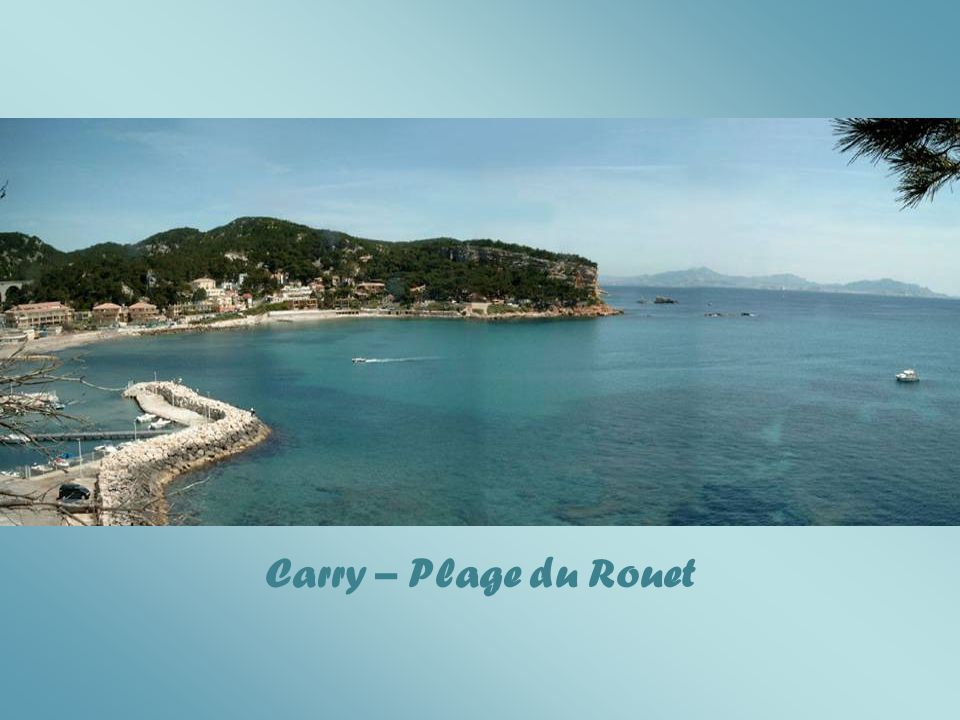 Carry – Plage du Rouet