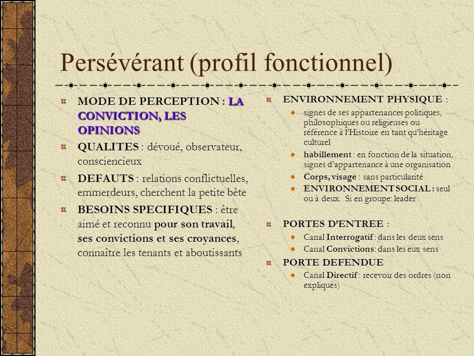 Persévérant (profil fonctionnel)