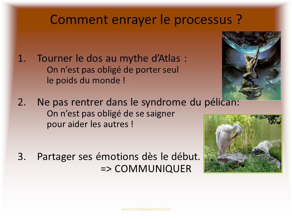 Comment enrayer le processus