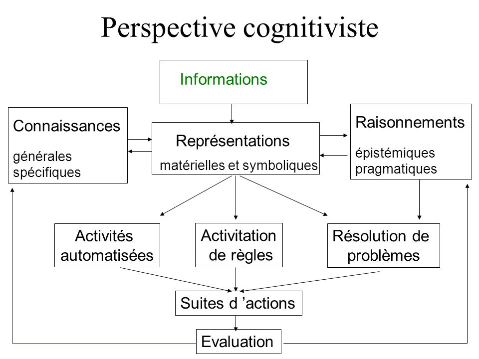 Perspective cognitiviste