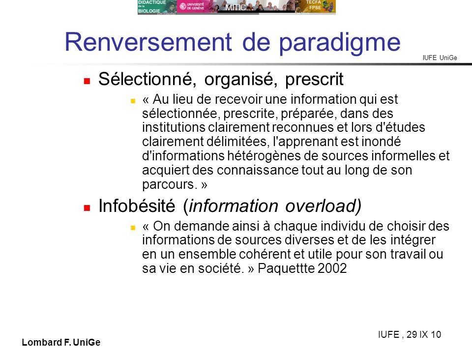 Renversement de paradigme