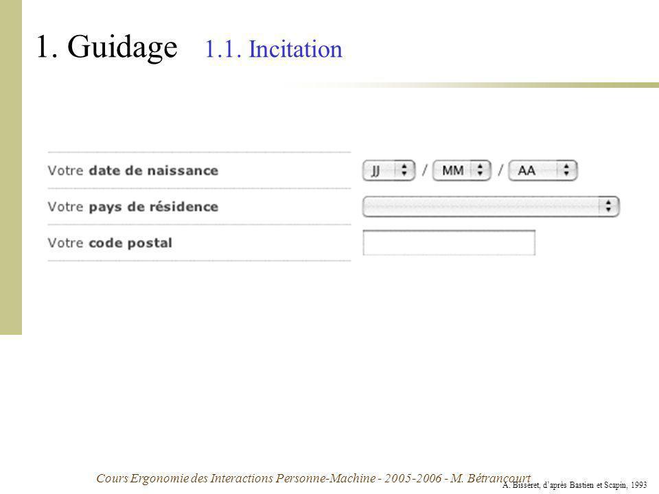 1. Guidage 1.1. Incitation Exemple :