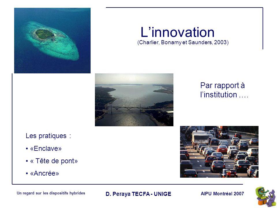 L'innovation (Charlier, Bonamy et Saunders, 2003)