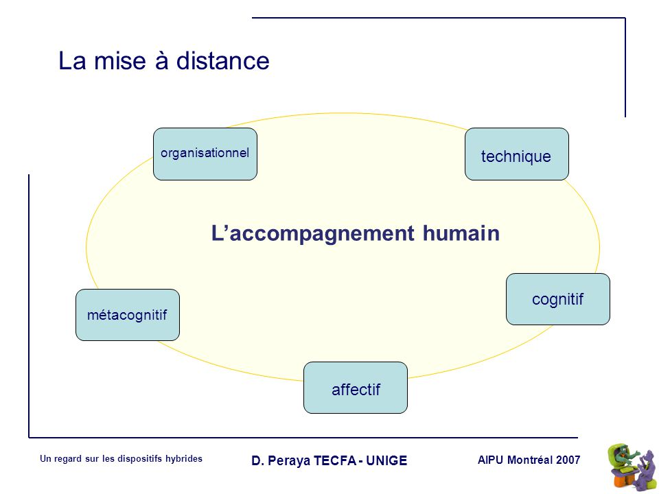 L'accompagnement humain