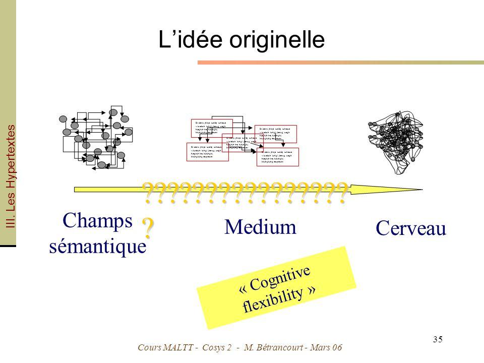 « Cognitive flexibility »