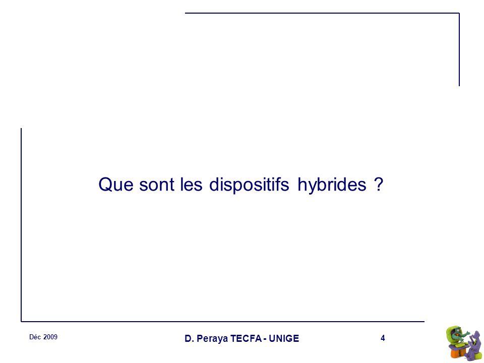 Que sont les dispositifs hybrides