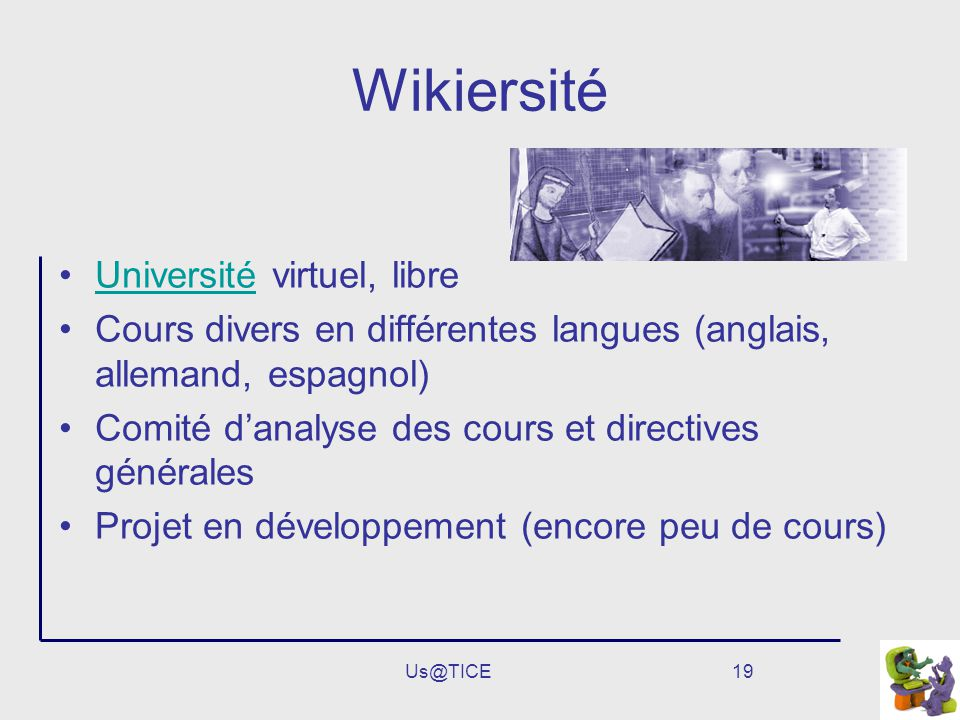 Wikiersité Université virtuel, libre