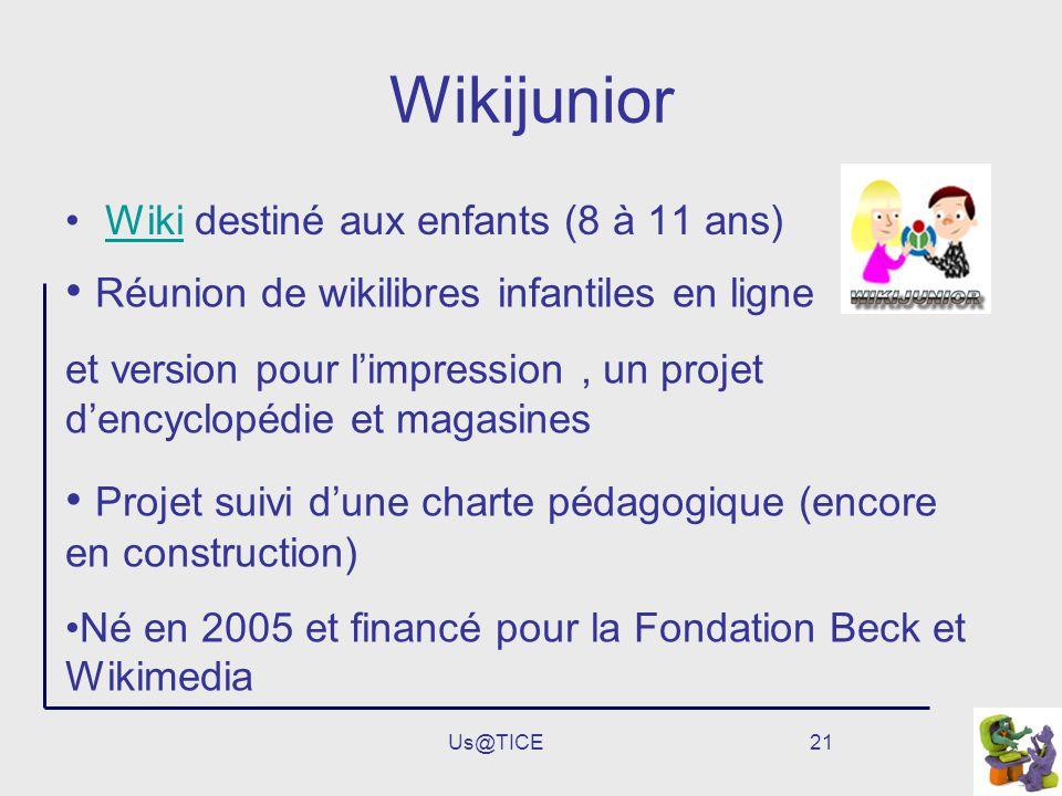 Wikijunior Réunion de wikilibres infantiles en ligne