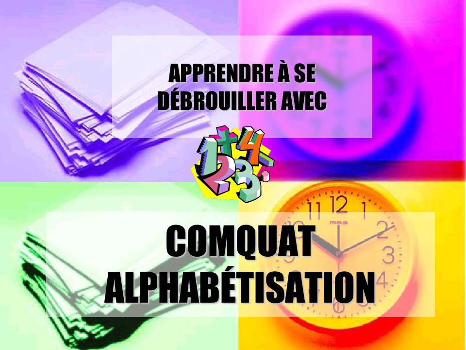 COMQUAT ALPHABÉTISATION