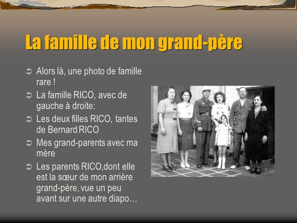 La famille de mon grand-père