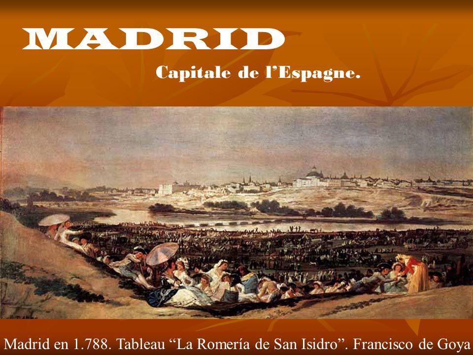 MADRID Capitale de l'Espagne.