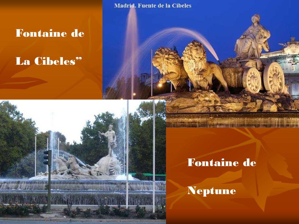 Fontaine de La Cibeles Fontaine de Neptune