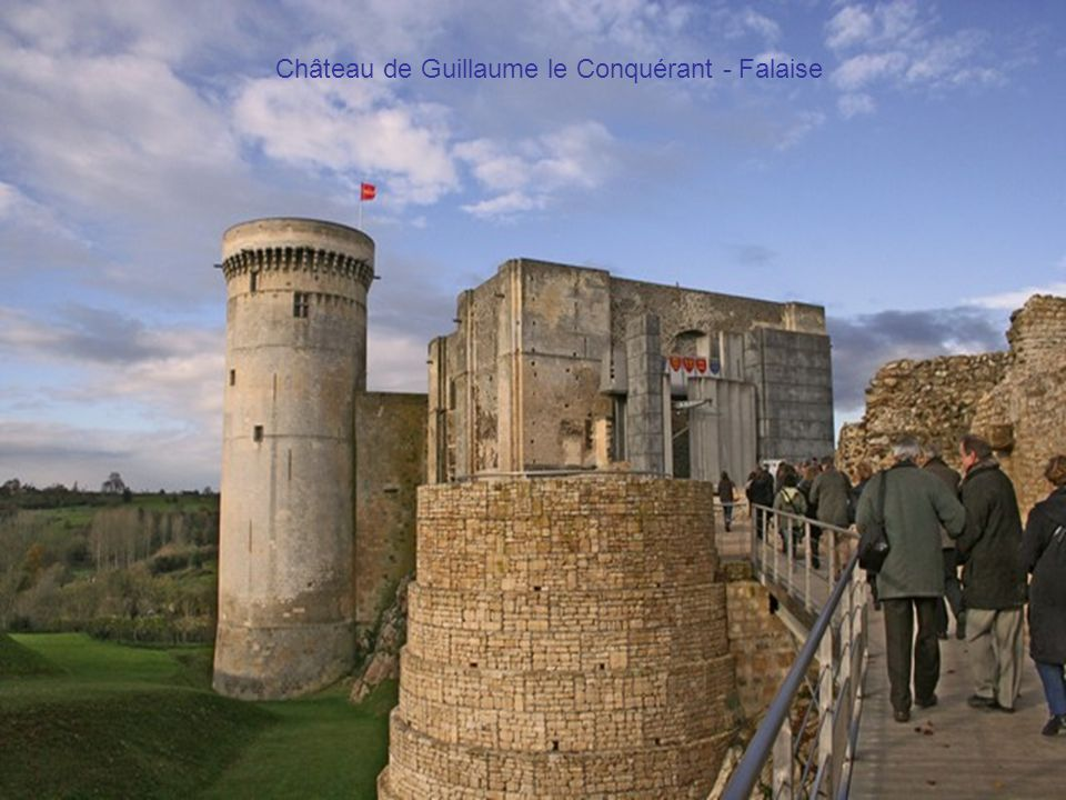 Château de Guillaume le Conquérant - Falaise
