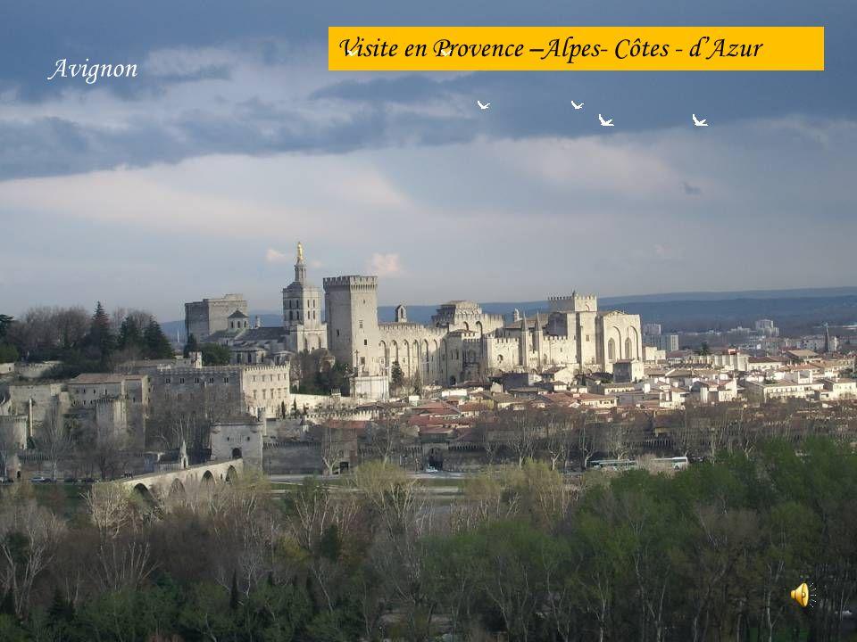 Visite en Provence –Alpes- Côtes - d'Azur