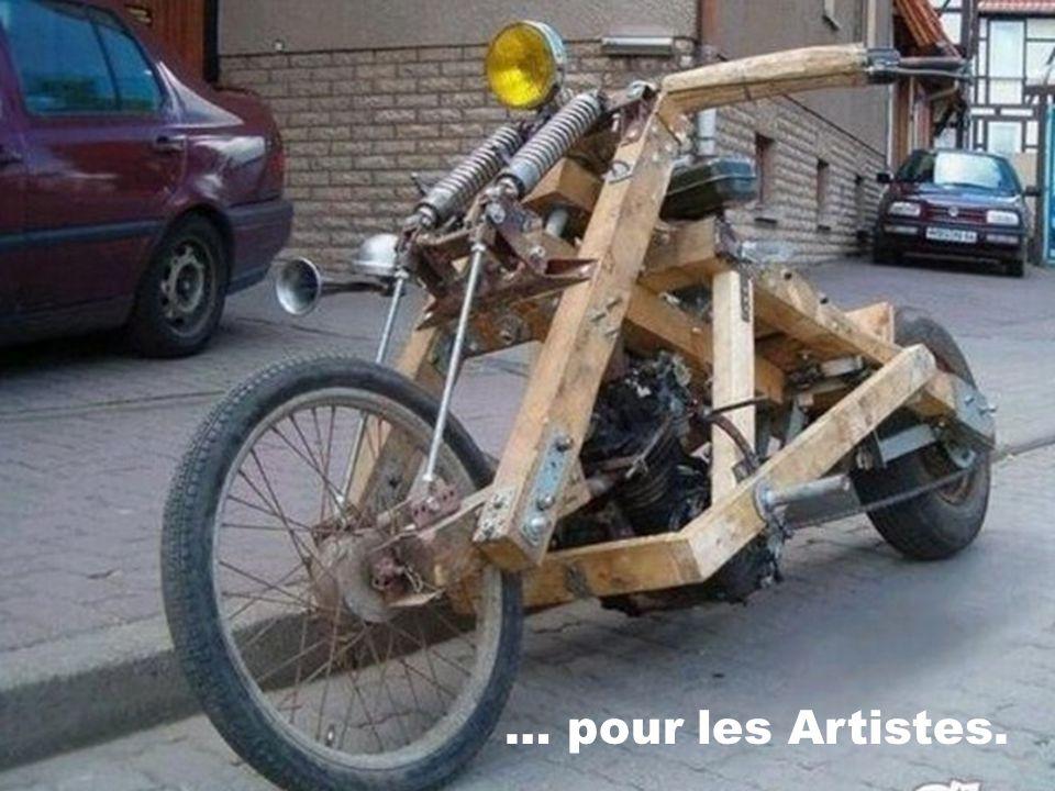 … pour les Artistes.