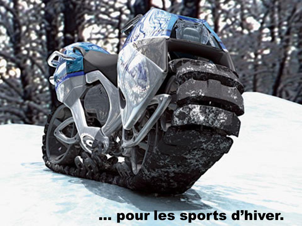 … pour les sports d'hiver.